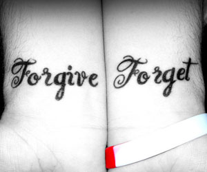 Let Us Forgive And Forget