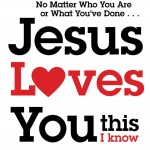 Jesus Loves You Wallpaper 01
