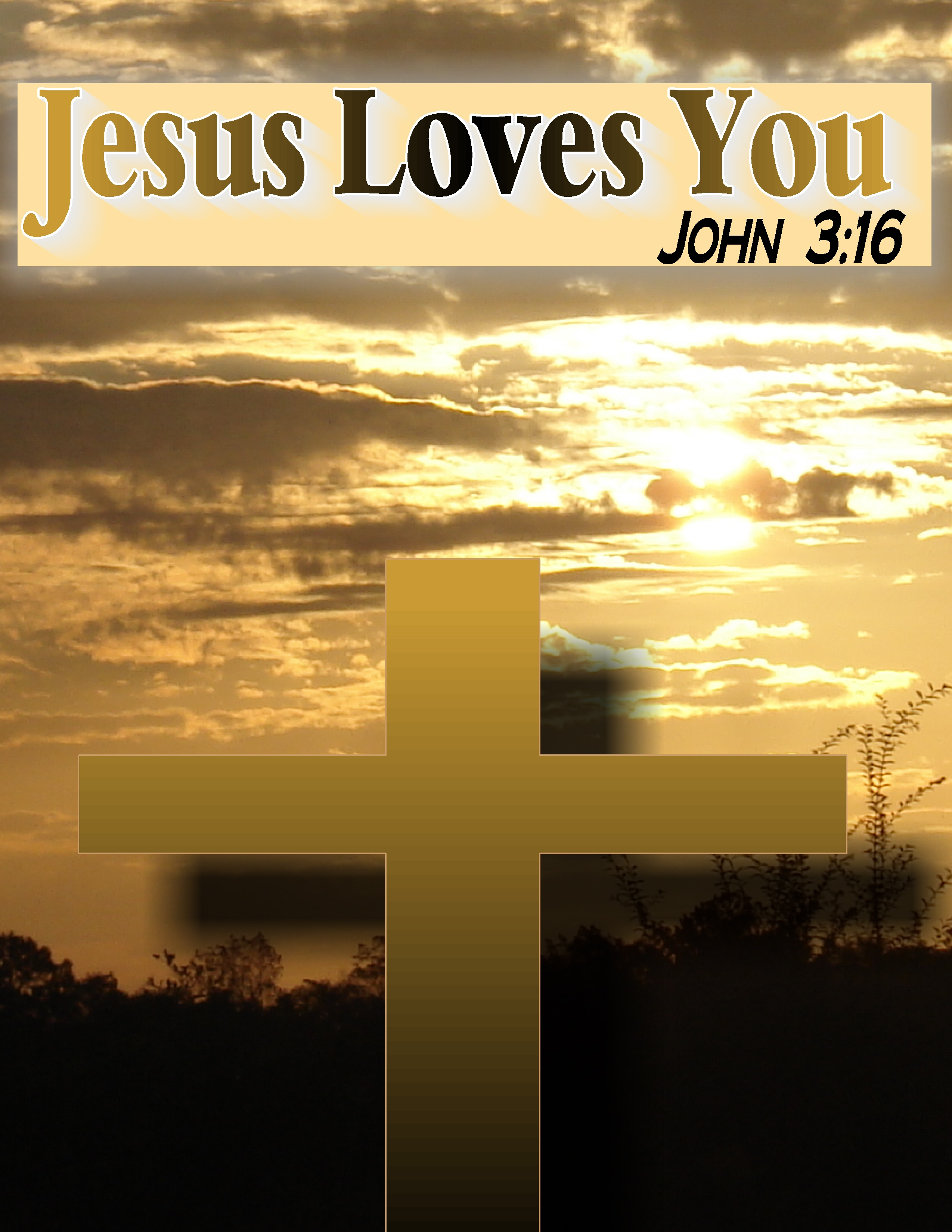 Wallpaper Of Jesus Love : Jesus Loves You Wallpapers