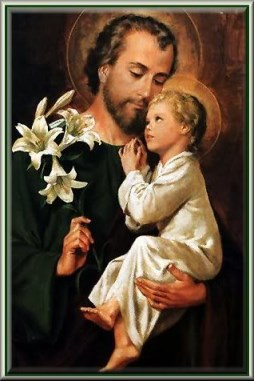St.Joseph and Baby Jesus