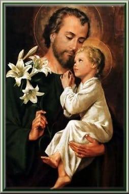 St.Joseph and Baby Jesus