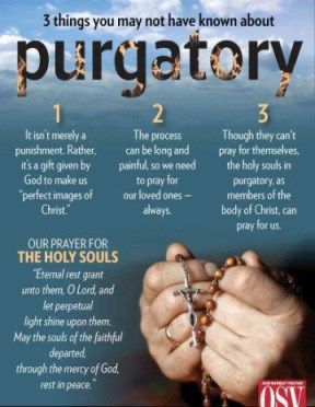 3 Things about Purgatory