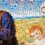 Holy Familly Mosaic Zoomed