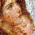 Mary And Jesus Mosaic Zoomed