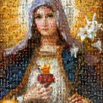 Mother Mary Mosaic
