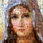 Mother Mary Mosaic Zoomed