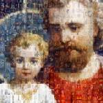 Saint Joseph Mosaic Zoomed