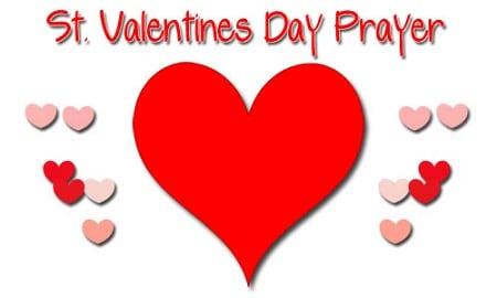 A Prayer for Valentine's Day