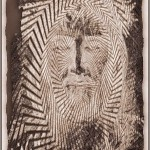 Alive Jesus In Shroud