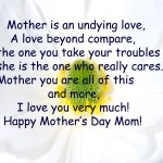 Happy Mothers Day Card 06