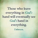 Everything in Gods Hand