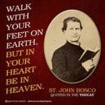 Feet on Earth Heart in Heaven