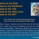 Jesus Is My All