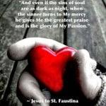 Jesus to St Faustina
