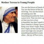 Mother Teresa to Young People