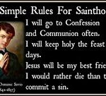 Rules for Sainthood