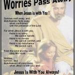 Worries Pass Away