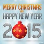 Merry Christmas and Happy New Year 2015 Wallpaper01