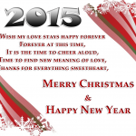 Merry Christmas and Happy New Year 2015 Wallpaper08