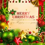 Merry Christmas and Happy New Year 2015 Wallpaper32